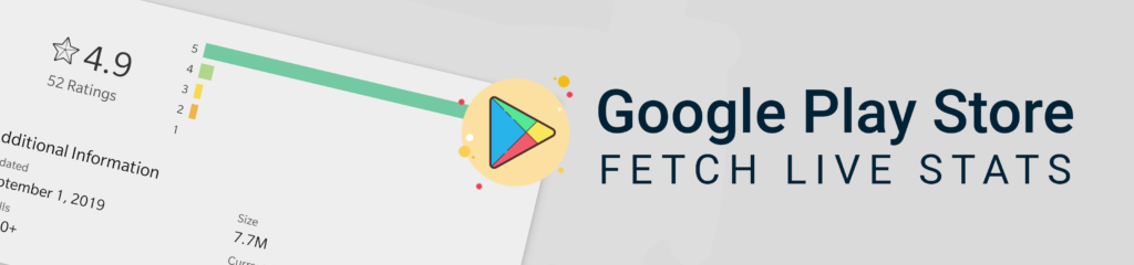 Fetch Google Play Store Ratings
