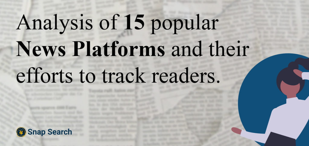 News websites and how they track readers